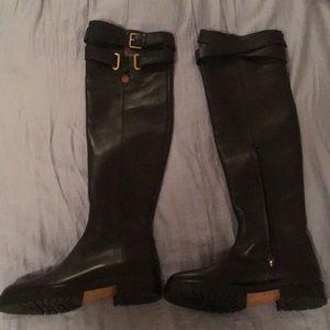 Black Valentino Boots